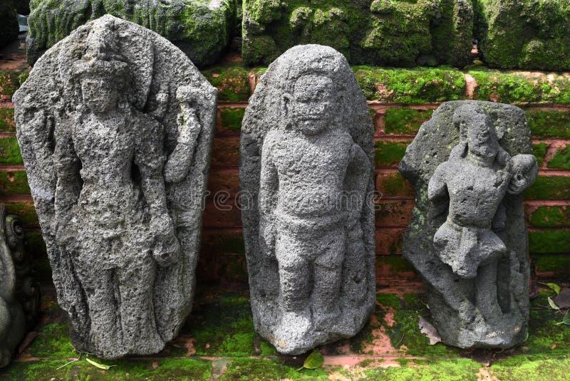 Statua majapahit królestwo w muzealnym Trowulan zdjęcie royalty free