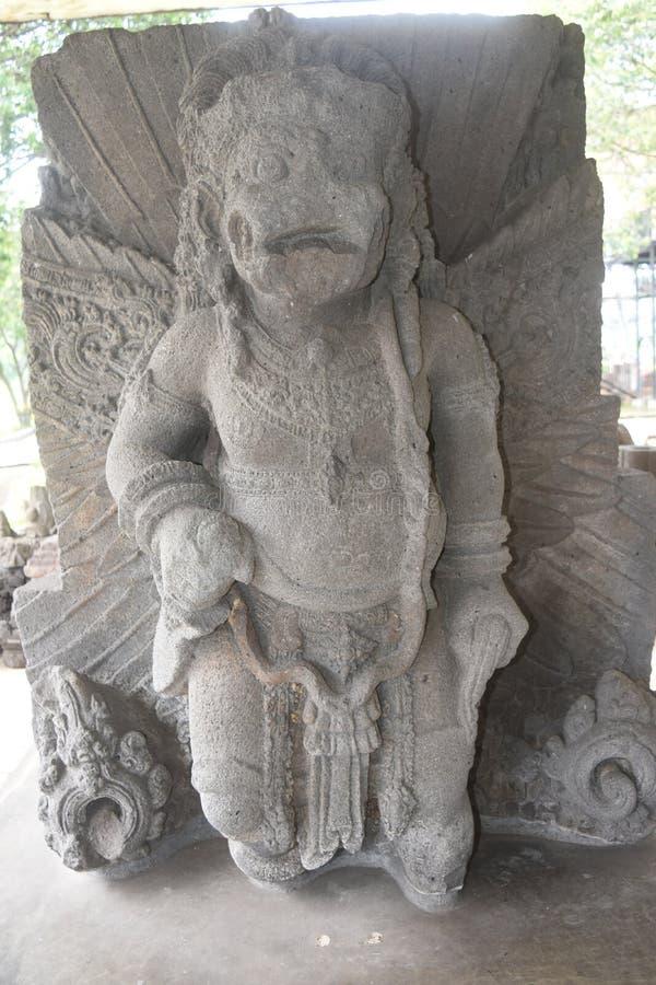 Statua majapahit królestwo w muzealnym Trowulan obrazy royalty free