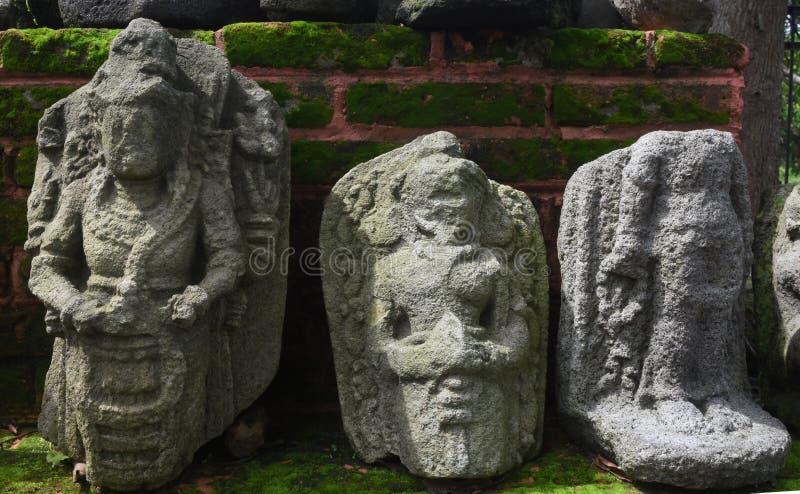 Statua majapahit królestwo w muzealnym Trowulan obraz stock