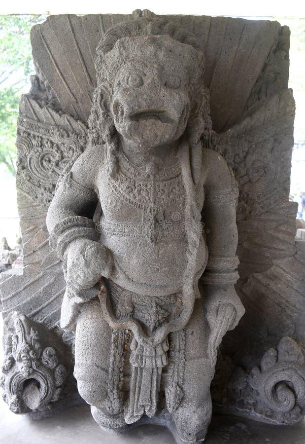 Statua majapahit królestwo w muzealnym Trowulan obraz royalty free