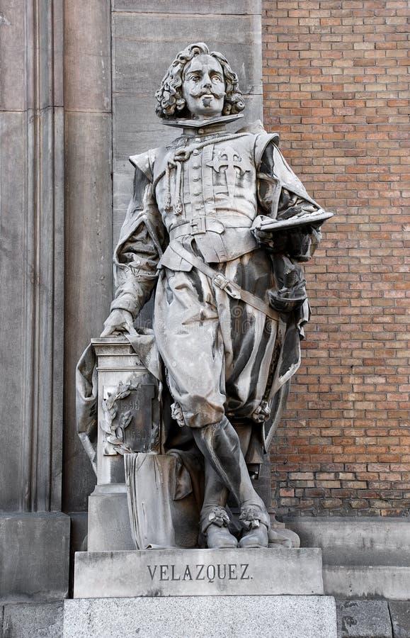 Statua malarza Velà ¡ zquez obraz royalty free