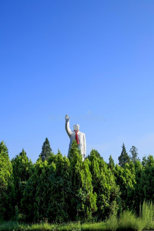 Statua Mao zedong zdjęcie royalty free