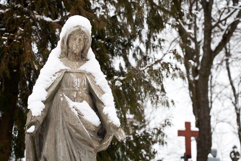 Statua maryja dziewica zdjęcia stock