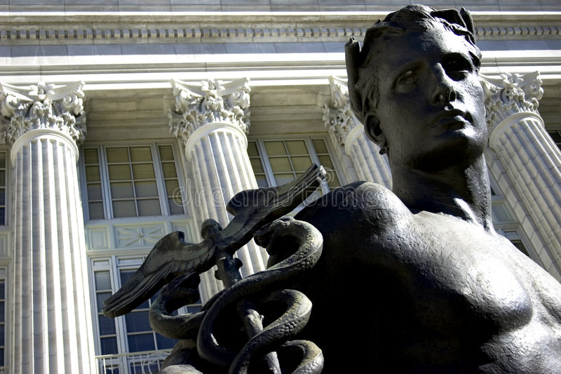Statua maschio fotografie stock libere da diritti