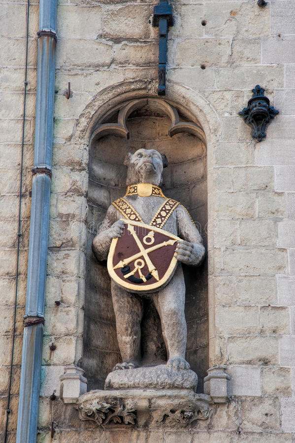 Statua medievale fotografia stock libera da diritti