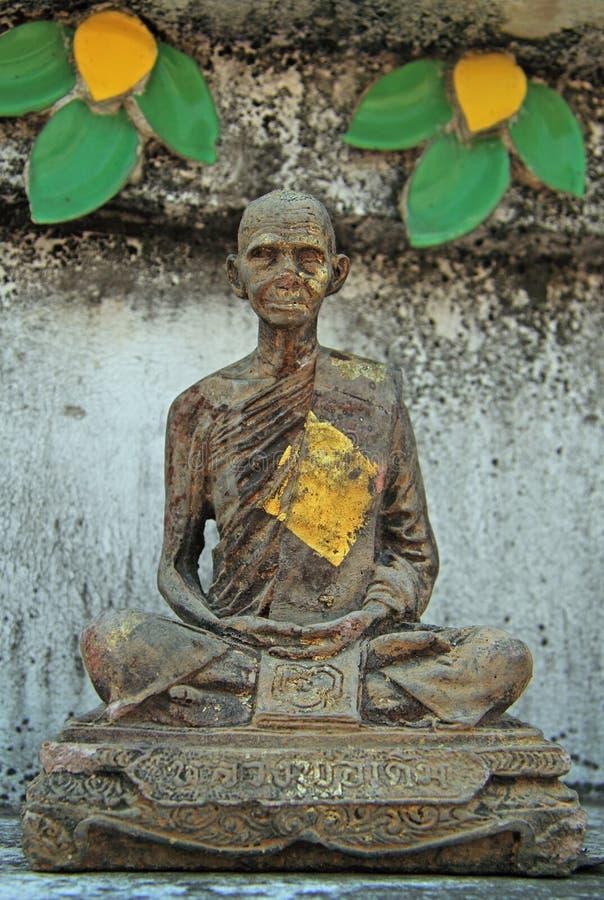 Statua medytować michaelita, Bangkok zdjęcie stock