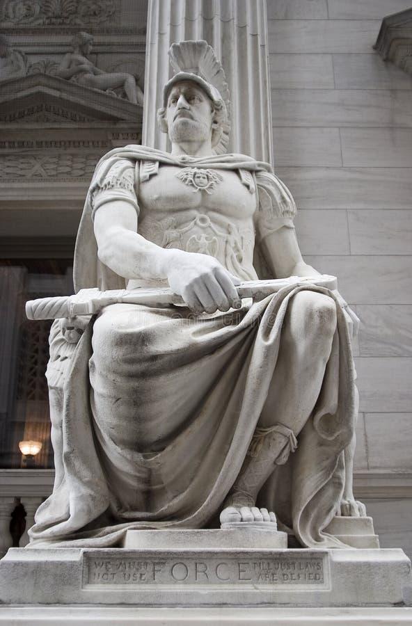 Statua neoclassica immagini stock libere da diritti