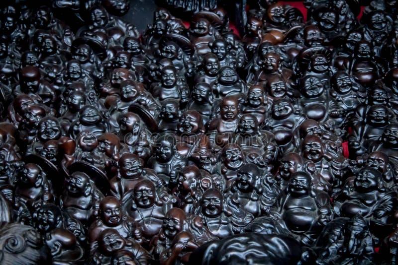 Statua nera fotografia stock libera da diritti