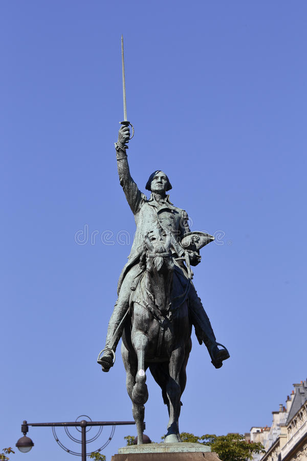 """Statua przedstawia generała George Washington, 'ojciec Ameryka' - byFrench & Garncarek stojaków na miejsca dâ⠂¬â """"¢Iena - (190 fotografia royalty free"""