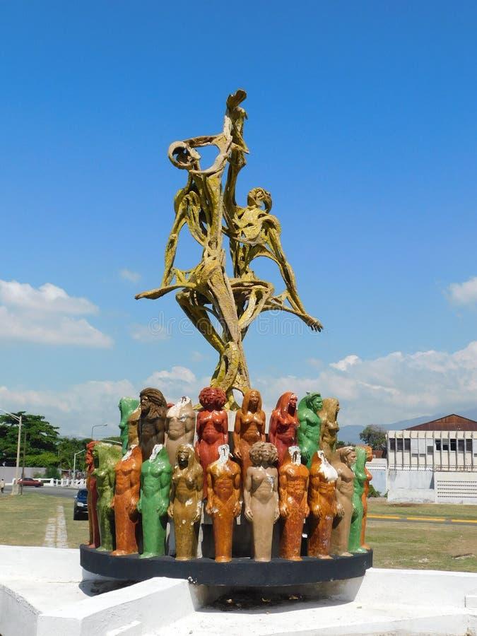 Statua przy wybrzeżem zdjęcie royalty free