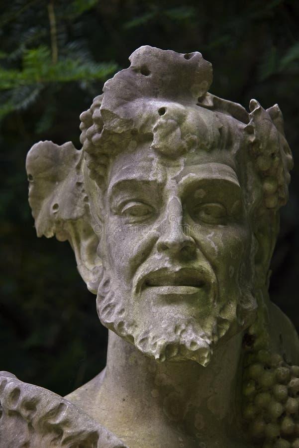 Statua Romański mężczyzna w cieniu obrazy royalty free
