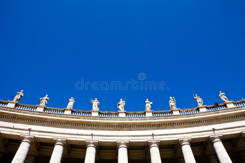 Statua a Roma immagini stock libere da diritti