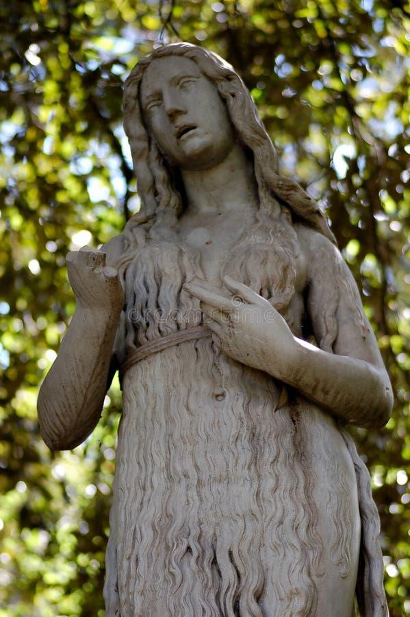 Statua romana a Firenze fotografie stock libere da diritti