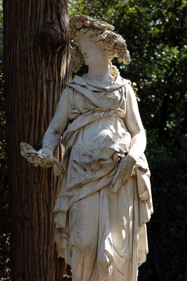 Statua romana a Firenze immagini stock