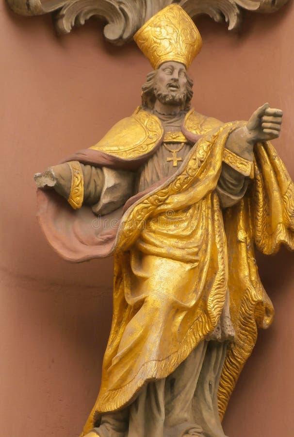Statua sacra immagine stock