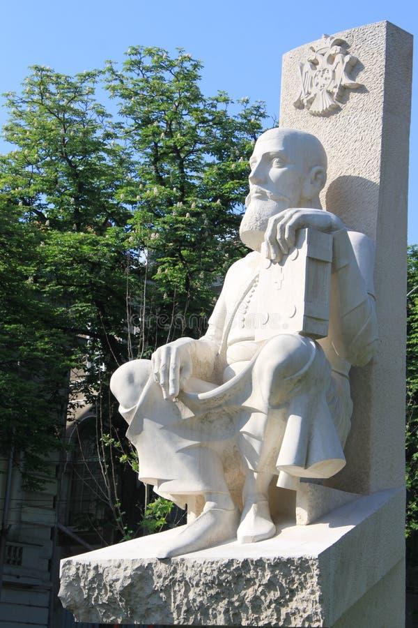 Download Statua Serban Cantacuzino obraz editorial. Obraz złożonej z biały - 30955745