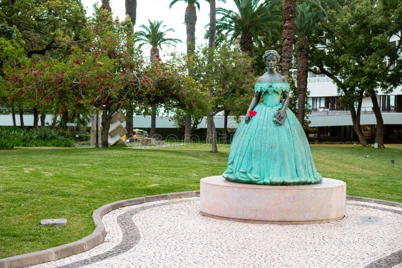 Statua Sissi zdjęcia royalty free