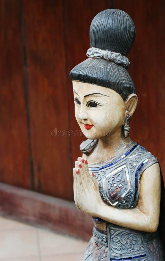 Statua tailandese immagine stock libera da diritti