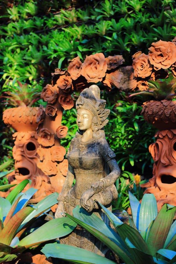 Statua tailandese per la decorazione immagini stock