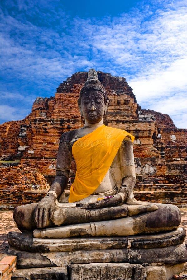 Statua Tailandia del Buddha immagini stock