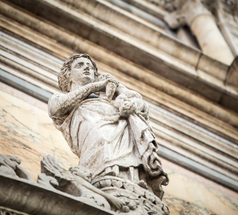 Download Statua Venice obraz stock. Obraz złożonej z architektury - 53793075