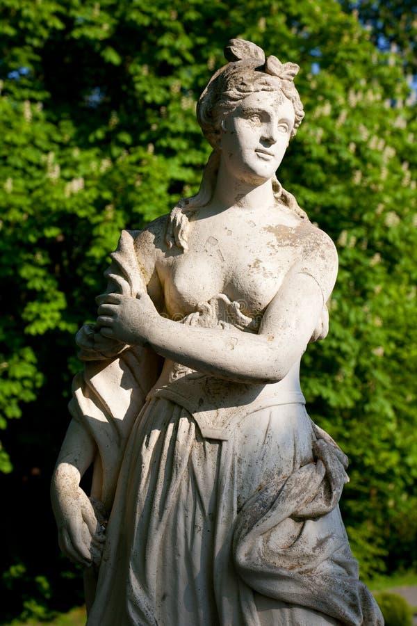 Statua w parku obraz stock