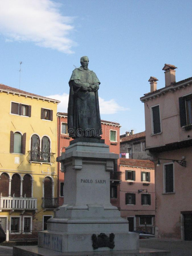 Statua w Wenecja, Italia obraz royalty free