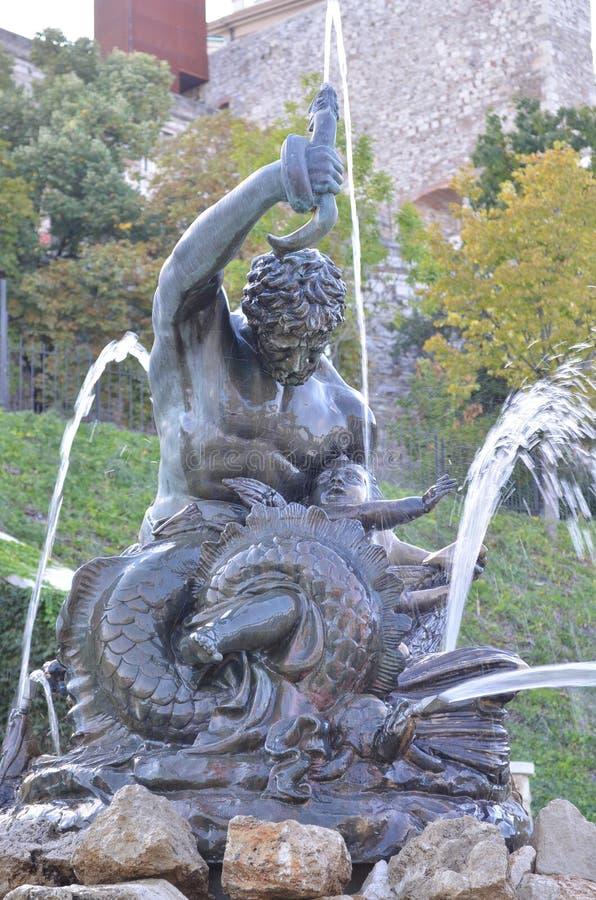 Statua wodociąg zdjęcia royalty free