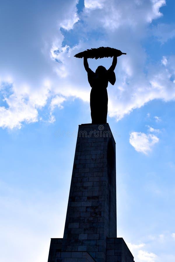Statua Wolności przy cytadelą obrazy royalty free