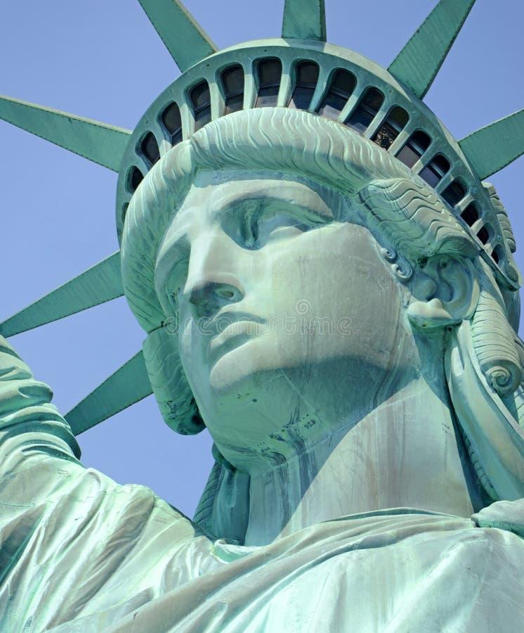 Statua Wolności, swobody wyspa, Miasto Nowy Jork obrazy royalty free