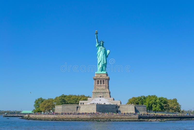 Statua Wolności - swobody wyspa, Nowy Jork USA fotografia stock