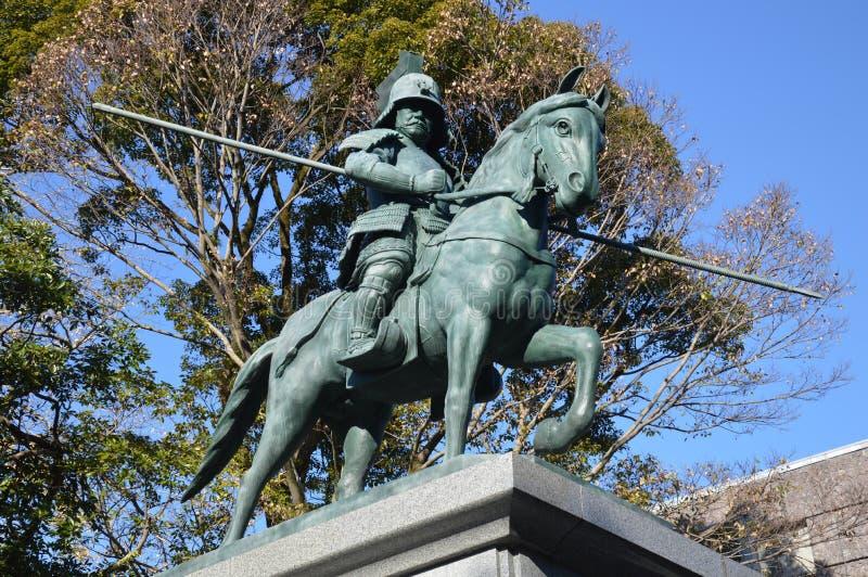 Statua Yamauchi Kazutoyo obraz royalty free