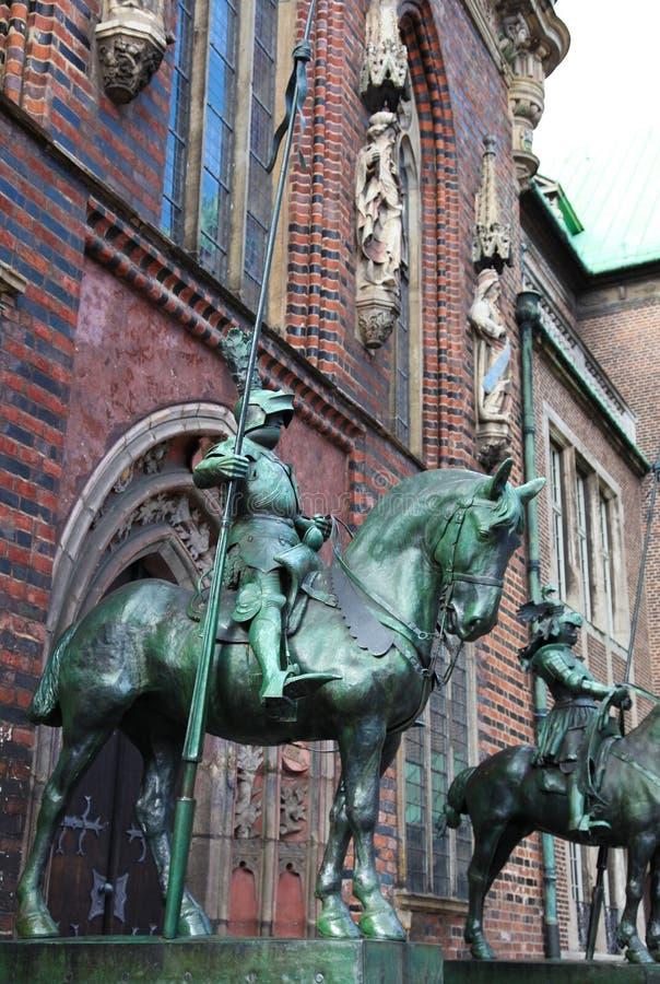 Statue à Brême photos libres de droits