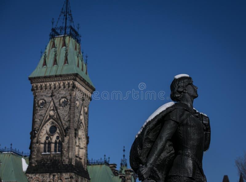 Statue à Ottawa photo stock