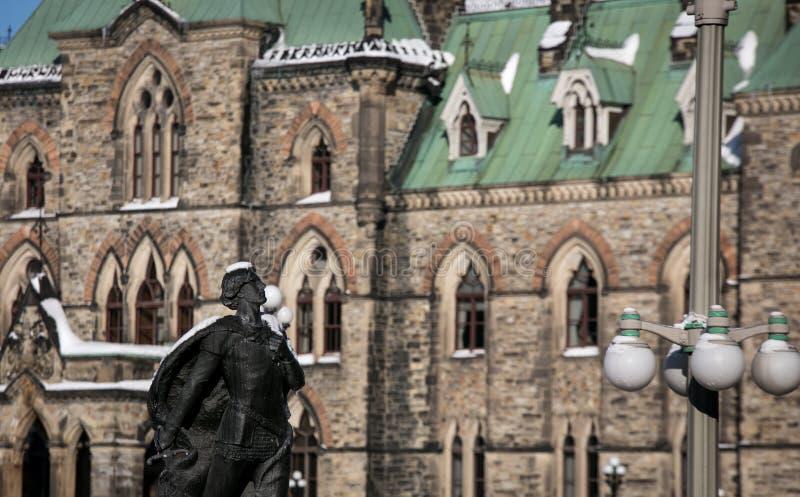Statue à Ottawa image stock