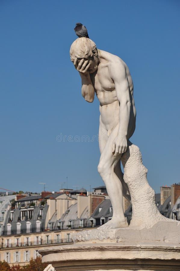 Statue à Paris photos libres de droits