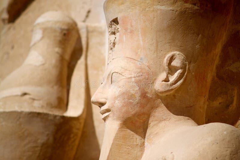 Statue in Ägypten lizenzfreies stockfoto