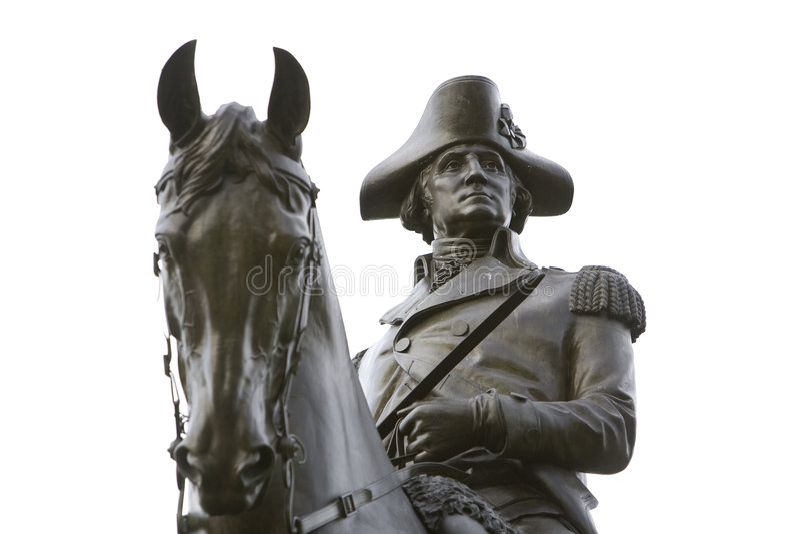 Statue 5 de George Washington images libres de droits