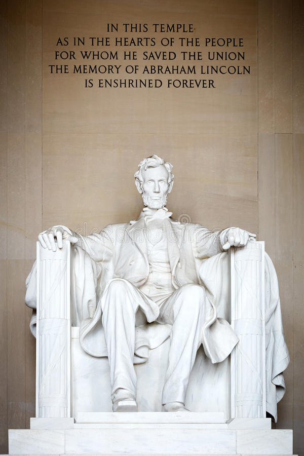 Statue Of Abraham Lincoln Stock Images