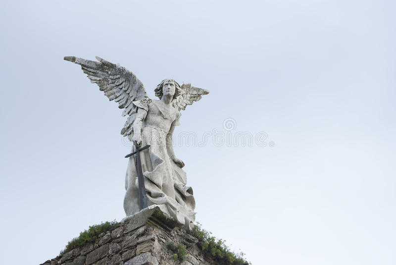 Statue angel royalty free stock photos