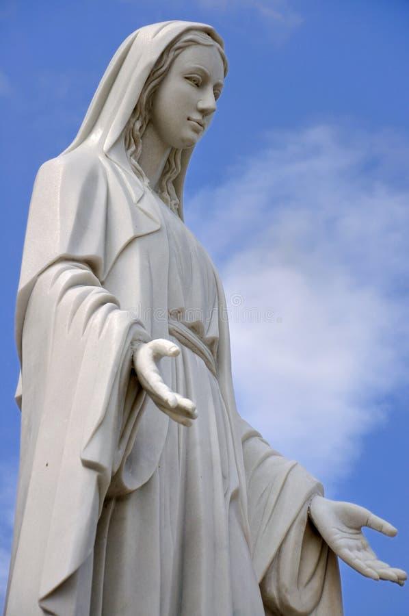 Statue bénie de Vierge Marie photos libres de droits