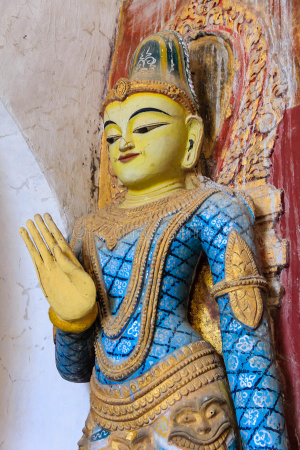 Statue, Bagan auf Myanmar (Burmar) lizenzfreie stockfotos