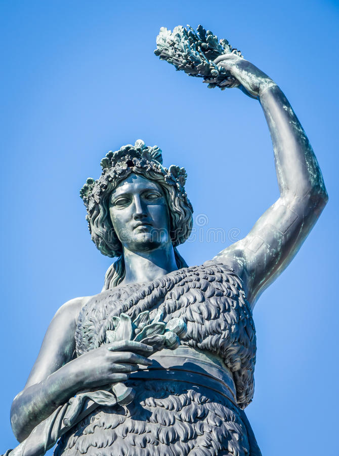 Download Statue of bavaria stock photo. Image of outdoors, statue - 28741564