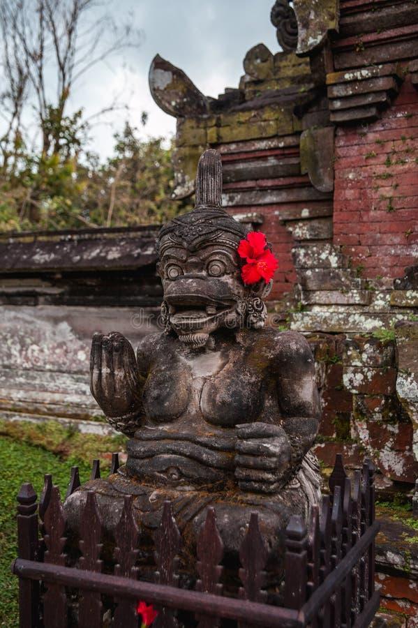 Statue bouddhiste de Bali Indonésie image stock