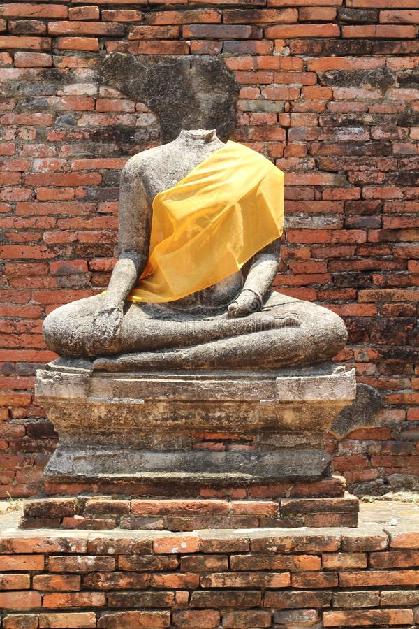 Statue of Buddha stock images