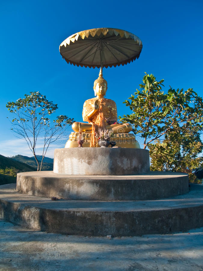 Download Statue Of Buddha Vitarka Mudra Posture Stock Photo - Image: 14859434
