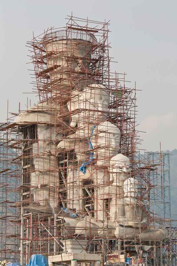 Statue buddhism construction