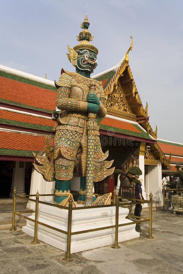Statue at Buddhist temple