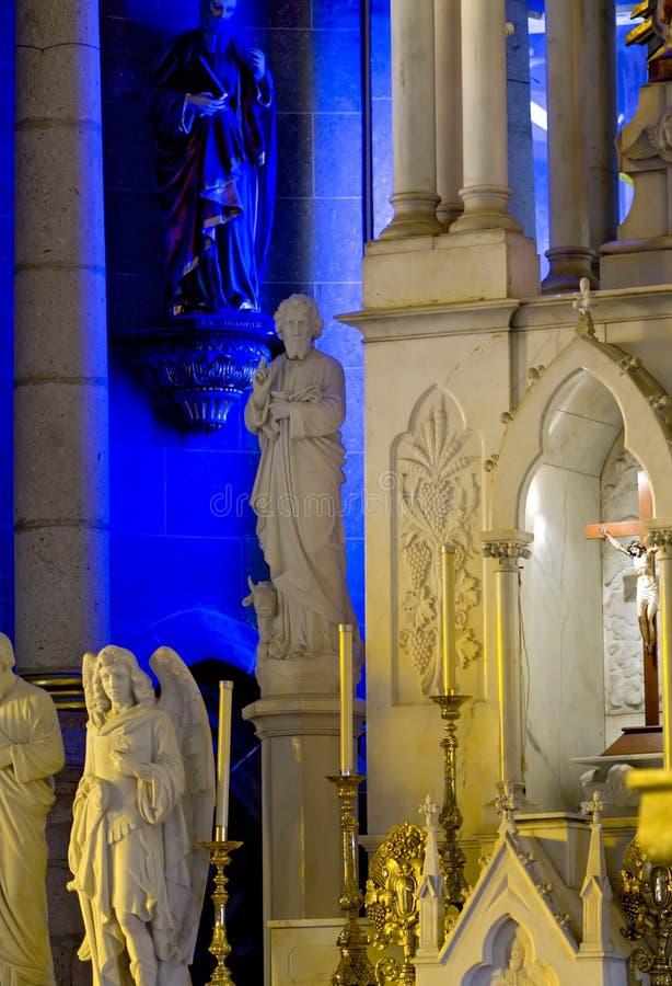 Statue cattoliche fotografie stock libere da diritti