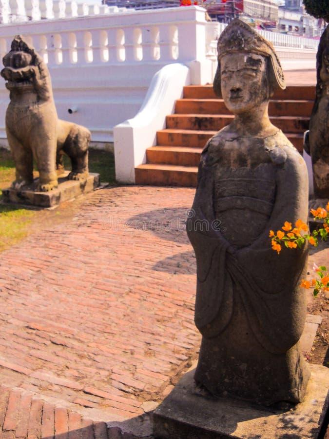 Statue Chantharakasem National Museum stock photos